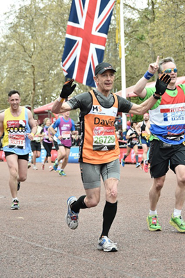 David Howells at London Marathon 2016