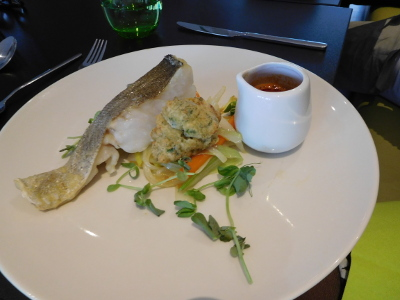 Lunch at Eastleigh College, 4 October 2018