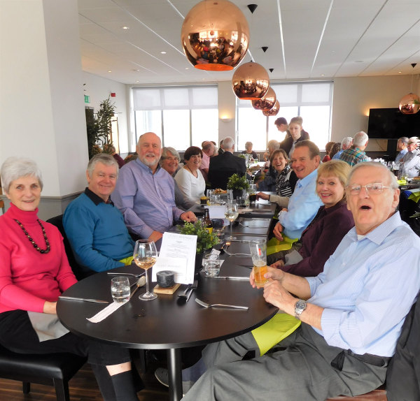 Lunch at East Avenue Restaurant - February 2019