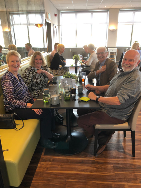 PMA Lunch at Eastleigh College, October 2021